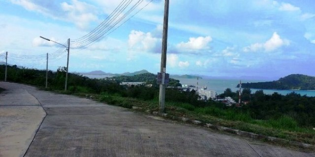 Thailand Sea View Property - Land for Sale overlooking Makham Bay Phuket Image by Phuket Realtor