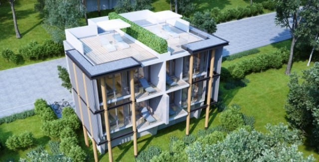 Naka Bay Foreign Freehold Condominiums For Sale Garden View Image by Phuket Realtor