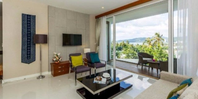 Kata Beach Hillside Condominium For Sale Image by Phuket Realtor