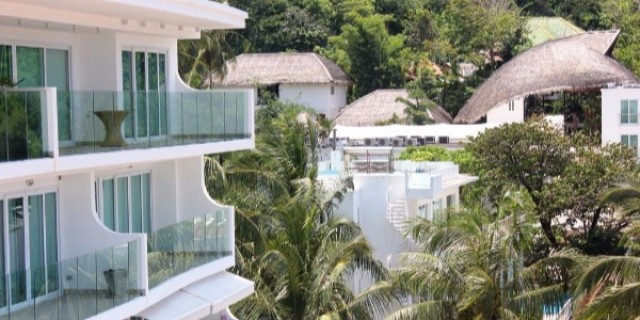 Hillside Sea View Condominiums Kata Beach Phuket Thailand Image by Phuket Realtor