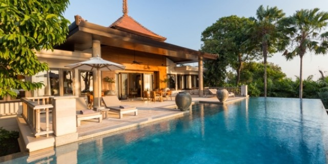 Luxury Nai Thon Phuket Oceanfront Villa for Sale Image by Phuket Realtor