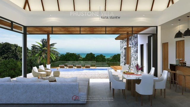 Kata Hillside Three Bedroom Private Pool Villa for Sale Image by Phuket Realtor