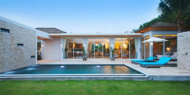 Modern Two Bedroom Nai Harn Private Pool Villa for Sale Image by Phuket Realtor