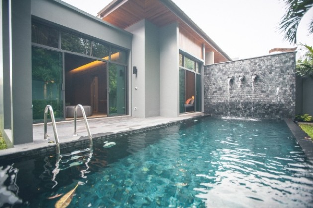 Onyx Two Bedroom Pool Villa for Sale in SaiYuan Estate Image by Phuket Realtor