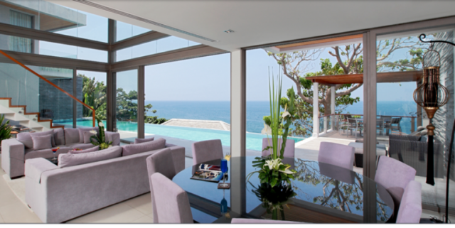 Ocean Front Luxury Four Bedroom Private Pool Villa for Sale Image by Phuket Realtor