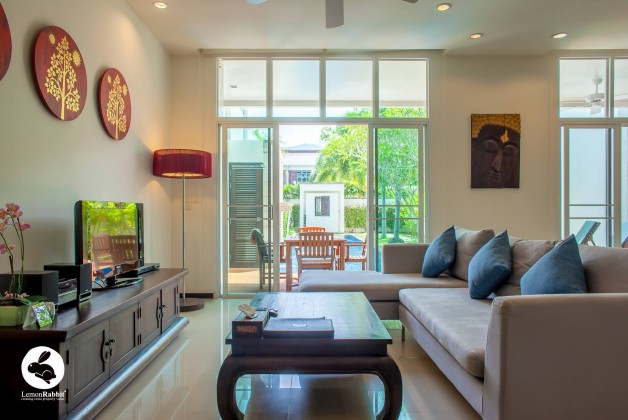 Three Bedroom Duplex Condominium for Sale in Bang Tao Image by Phuket Realtor