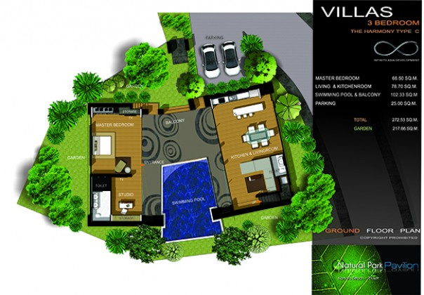 Stone Walled Private Villa in Kamala for Sale Image by Phuket Realtor