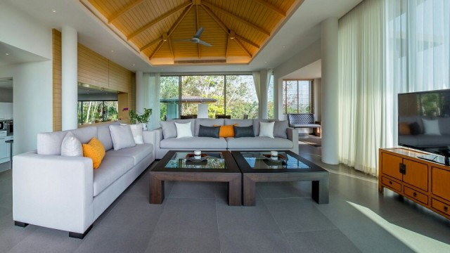 Layan Five Bedroom Sea View Luxury Villa for Sale Image by Phuket Realtor
