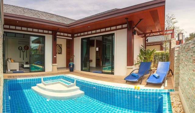 Modern Rawai Two Bedroom Private Pool Villa Image by Phuket Realtor