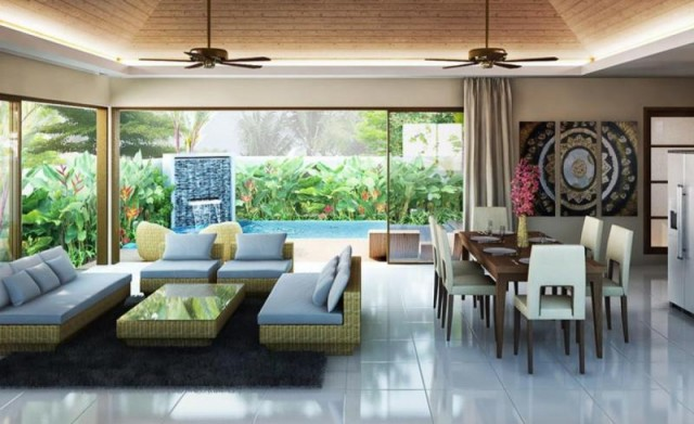 Nai Harn 2 Bedroom Plunge Villa for Sale Image by Phuket Realtor