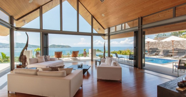 Exclusive Sea View Luxury Villa for Sale Image by Phuket Realtor