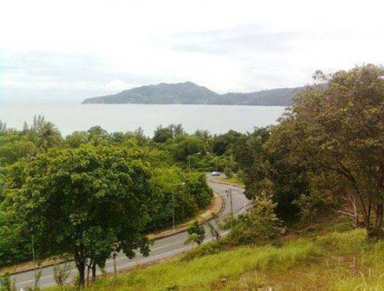 Sea View Patong Land Plot for Sale Image by Phuket Realtor