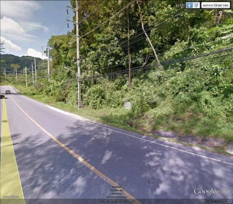 Sea View Land Plot for Sale on road to Patong Image by Phuket Realtor