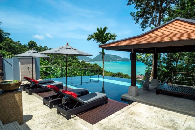 Two Kalim Sea View Villas for Sale Side by Side Image by Phuket Realtor