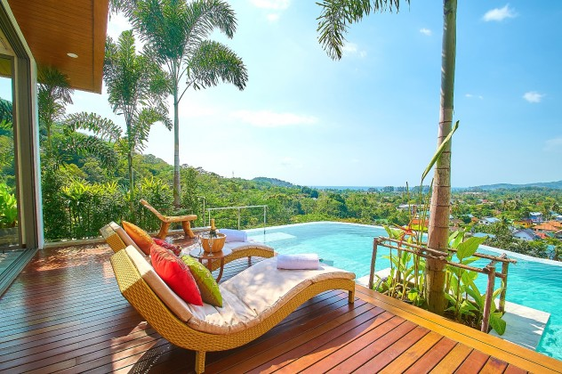 Lively Sea View Four Bedroom Pool Villa for Sale Image by Phuket Realtor