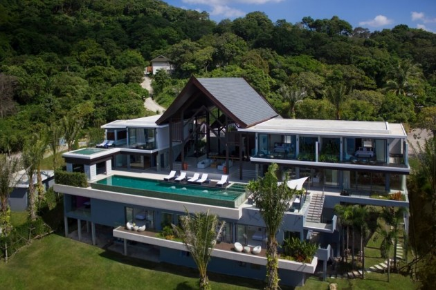 Comfortable Luxury Ocean View Pool Villa for Sale Image by Phuket Realtor