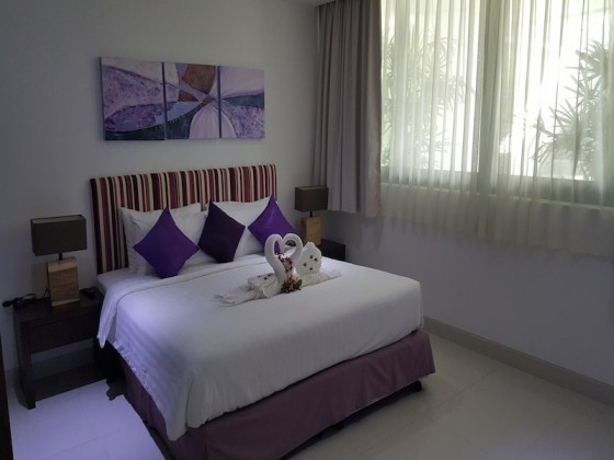 Cool One Bedroom Sea View Services Apartment Image by Phuket Realtor