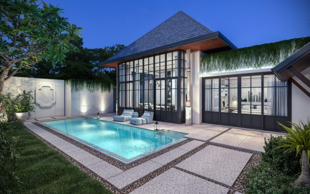 You'll love this new affordable MONO Luxury Villa by The Attitude Club Image by Phuket Realtor
