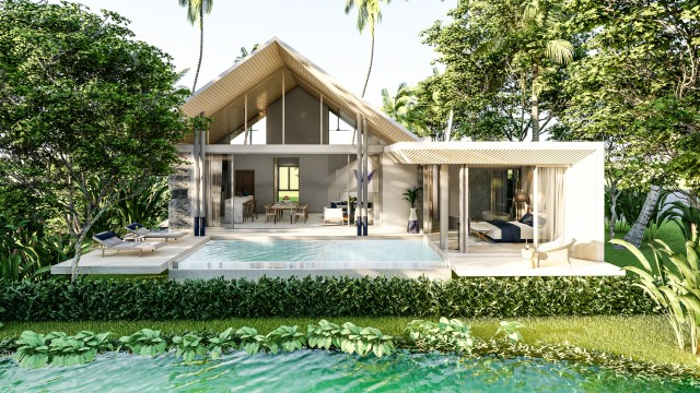 Award Winning Oracle Architects inspired Private Pool Villa Image by Phuket Realtor