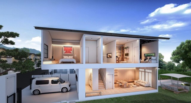Must see this affordable Japanese loft home for Sale Image by Phuket Realtor