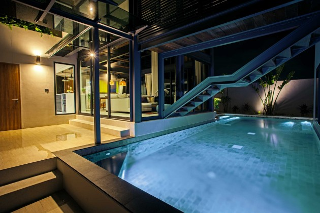 Must see unique Solar Powered Loft Style Private Pool Villa Image by Phuket Realtor