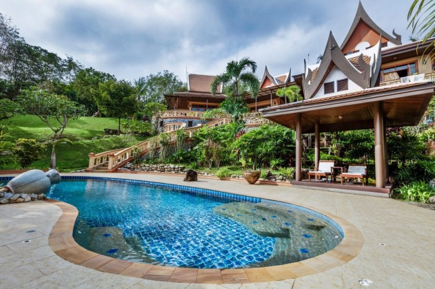 Vichuda Hills Estate | Massive 7B Private Pool Villa for Sale on 3.5 Rai Image by Phuket Realtor
