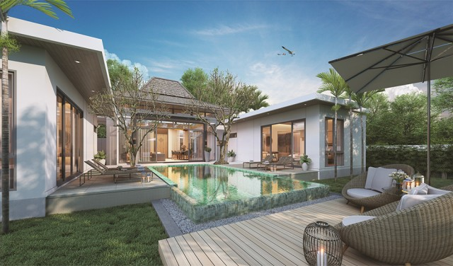 Five Minutes Away and Everything | Private Pool Villa for Sale | Laguna Phuket Area Image by Phuket Realtor
