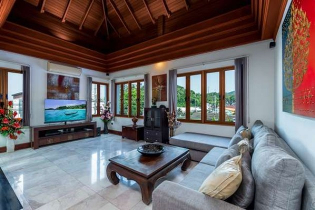 You can Walk to the Beach Every Day | Surin Villa for Sale Image by Phuket Realtor