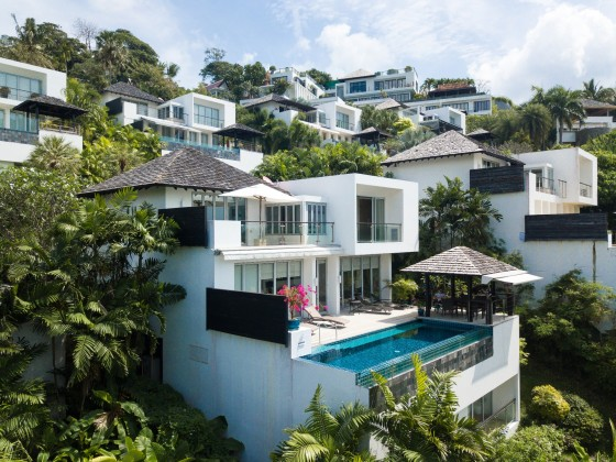 Come See This Sea View Surin Phuket Villa for Sale Image by Phuket Realtor