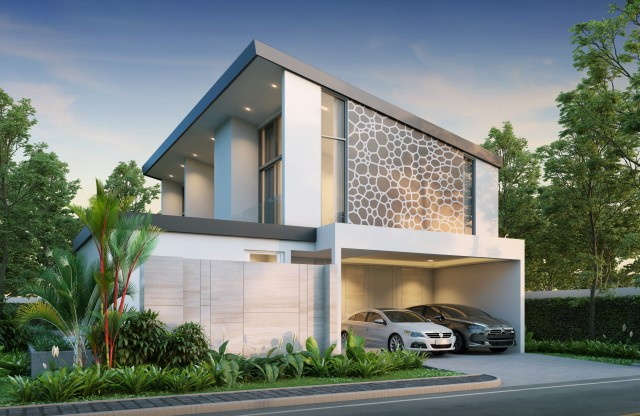 Phuket New Construction | Two Story Home for Sale | 6% Rental Return Image by Phuket Realtor