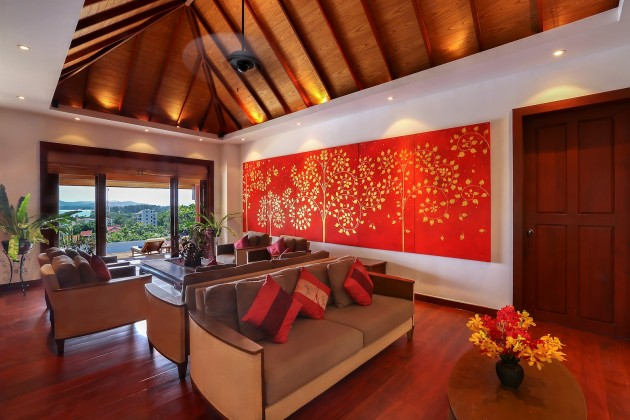 Magnificent Hilltop Sea View Private Pool Villa for Sale Image by Phuket Realtor