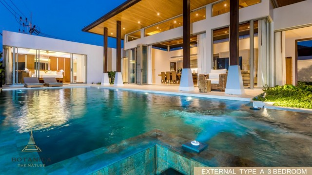New Inspired Three Bedroom Luxury Pool Villa for Sale Image by Phuket Realtor